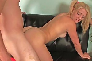Flexible Petite Teen Doggystyling At The Gym