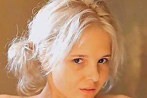 Shaving Of Beautiful 18yo Blond Pussy Segment 2