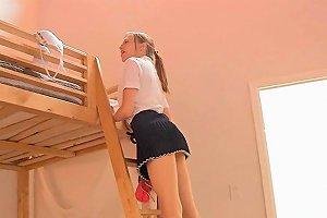 Girls Having Lesbo Fun Teen Movie 3